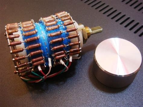 vishay dale resistor kit diyのオーディオキット dale vishay resistor 23 steps ladder type attenuator for volume デールビシェイ抵抗