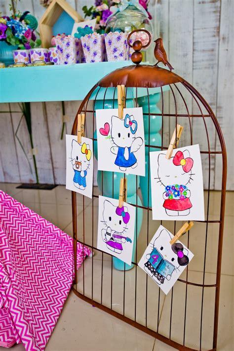 02792 Lu Hellokitty Lu Frame Hellokitty kara s ideas floral hello birthday