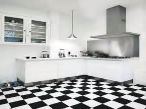 White Tile Kitchen Floor Best 35 Black And White Floor Tiles Ideas With Various Combinations