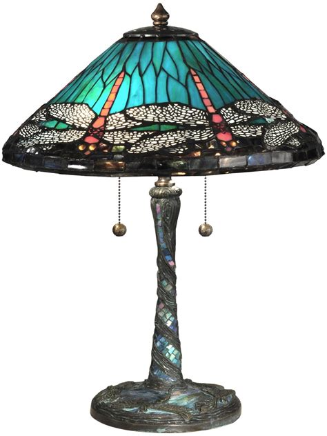 dale dragonfly table l dale l blue cone dragonfly table l glass