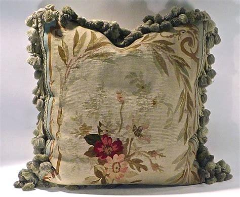 Antique Pillow by Pillow W Antique Floral Aubusson Second Shout Out