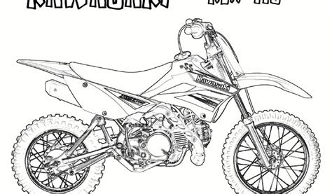 coloriage motocross freestyle coloriage de moto cross