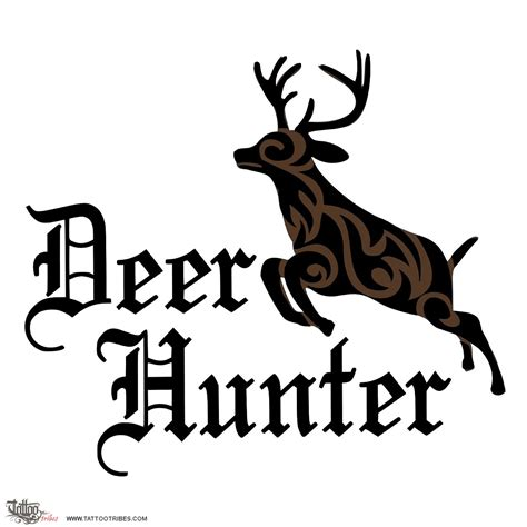 deer hunter tattoo design tribal tattoos www pixshark images