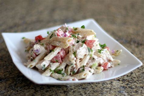 pasta salad recipes with mayo pasta salad with chicken and bacon recipe