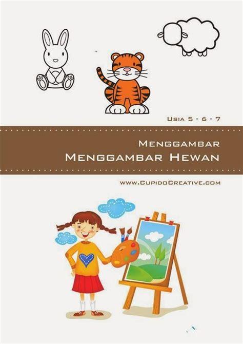 Buku Aneka Permainan Kreatif Dan Edukatif Anak Dv buku aktivitas anak sd petunjuk cara mudah menggambar aneka hewan binatang cupido shop