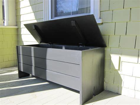 handmade outdoor storage bench  newton fine woodworking