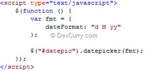 format date using jquery jquery ui datepicker built in date formats
