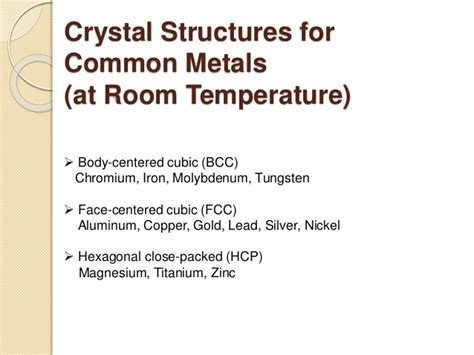 chromium at room temperature chapter1 material structure and binary alloy system