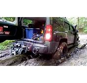 4x4 Recovery From Mud Hole Using Hitch Mounted WARN Winch