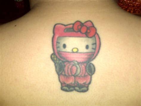 hello kitty tattoos hello pink squirrel tattoos hello