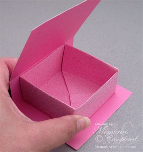 Folded Paper Boxes - 25 best ideas about paper box tutorial on