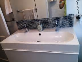 Rustic trough style bathroom sinks bathroom designs