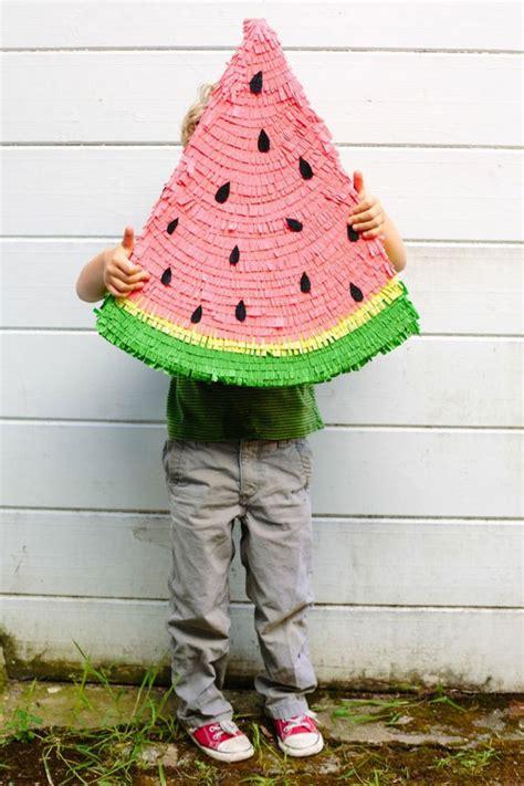 diy pinata watermelon pinata diy