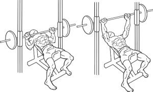 incline smith machine bench press dumbbell incline bench press international drug free