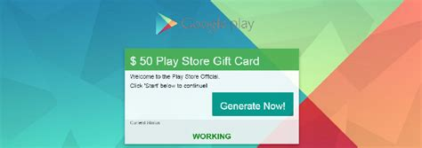 Play Store Gift Card Generator No Survey - google play gift card generator no survey 2017 infocard co
