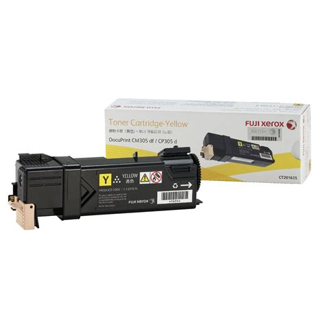 Fuji Xerox Yellow Toner Ct350488 fuji xerox toner cartridge yellow ct201635 officeworks