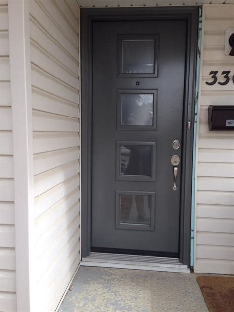 Exterior Doors Installation Calgary Installed By Northview Contemporary Front Doors In Calgary Ab View Canada