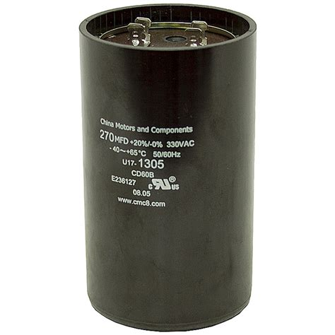 start capacitor 270 324 mfd 330 vac motor start capacitor motor start capacitors capacitors electrical