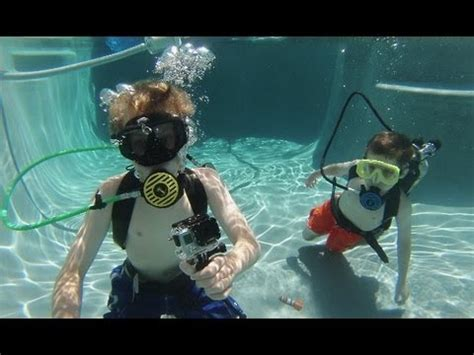 homebuilt shallow water diving gear surface supplied ai