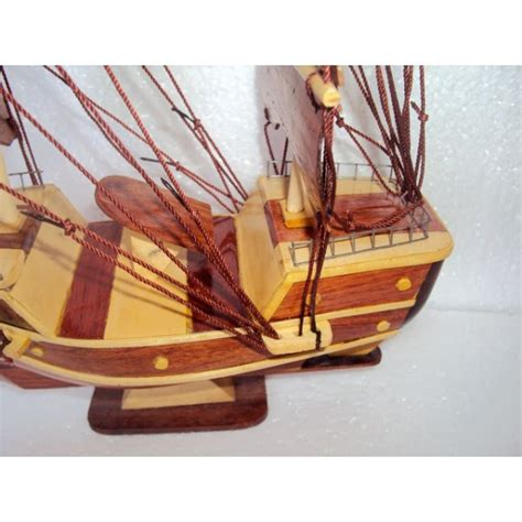 Handmade Wood Model Ship 11 - handmade wood model ship 11 8 handmade sail boat