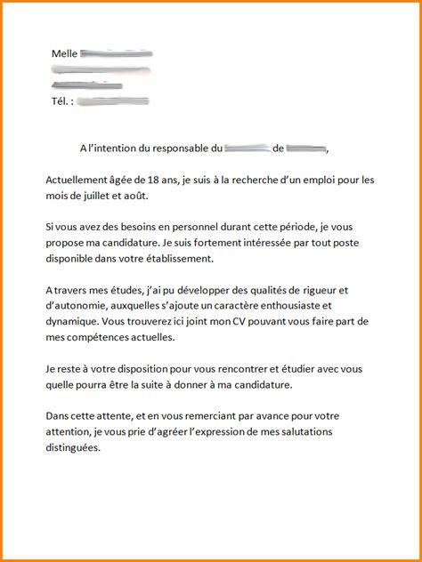 Exemple De Lettre De Motivation Macdonald 5 Lettre De Motivation Pour Macdonald Format Lettre
