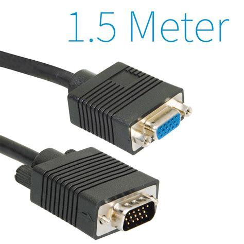 Netline Vga Kabel 15 Meter vga verleng kabel 1 5 meter groothandel xl