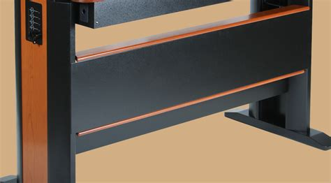 standing desk modesty panel options for standing desks products by caretta workspace