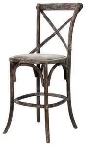parisienne cafe counter stool limed charcoal farmhouse