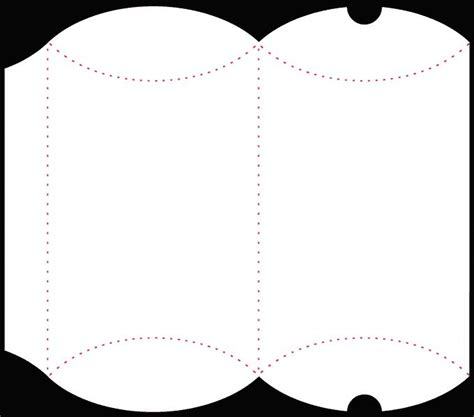 box card template svg pillow box other boxes free studio files and more