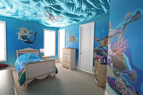Tinkerbell Wall Mural under the sea traditional kids edmonton by novel