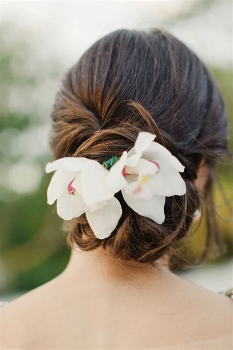 Wedding Updos With Flowers by Wedding Hairstyles Part Ii Bridal Updos Tulle