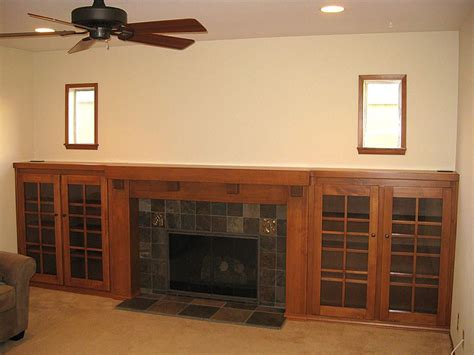 craftsman style fireplace mantels custom arts and crafts