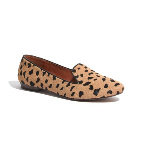 madewell loafers madewell the teddy loafer in calf hair in brown truffle
