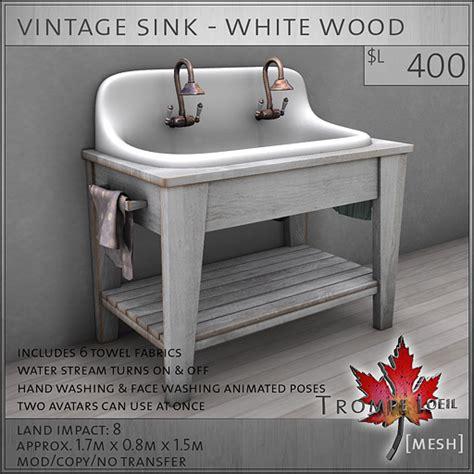 vintage style bathroom sinks second marketplace trompe loeil vintage sink