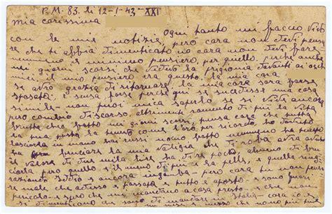 lettere dal fronte seconda guerra mondiale lettera dal fronte russo 1943