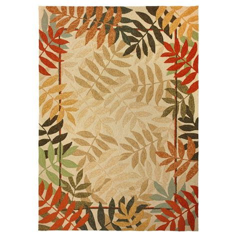 3 x 5 outdoor rug fall forest indoor outdoor rug 3 x 5