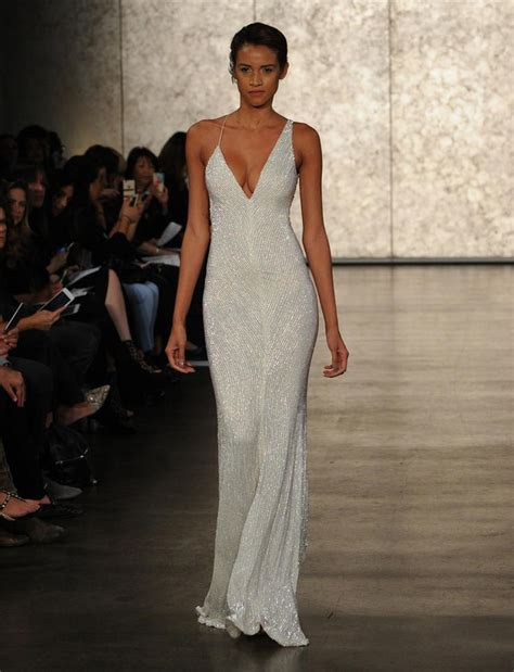 Slinky Silver For Autumn Nights Out best 25 slinky wedding dress ideas on