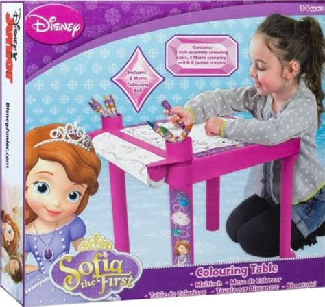disney sofia the activity drawing table