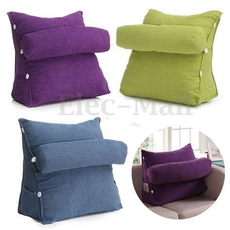 pillow back sofa bed office chair cushion adjustable neck support back