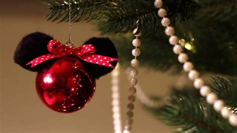 diy minnie mouse christmas ornament by amarixe disney video