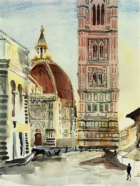 florence the paintings florence duomo by natalia sinelnik