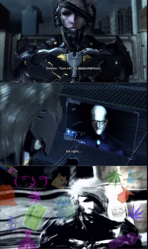 Metal Gear Rising Memes - dank memes this is why i fight metal gear rising