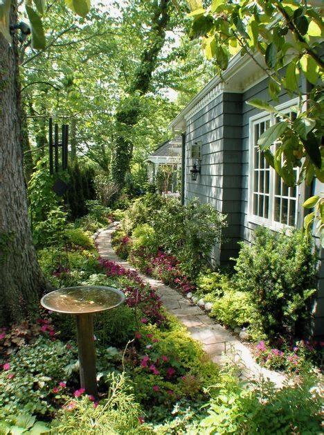 side yard landscape design gardening outdoors pinterest