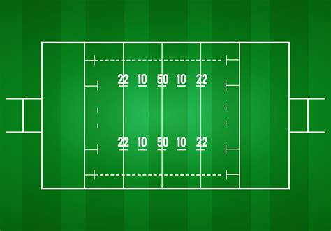 Rugby Pitch Vector   Download Free Vector Art, Stock