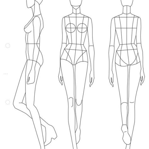 41 Best Printable Templates Fashion Figure Templates Fashion Pertaining To Fashion Design Fashion Design Templates To Print