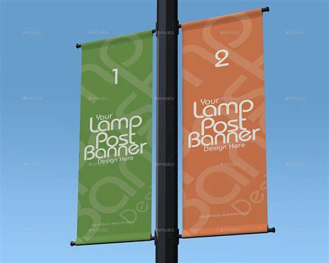 mockup design banner l post banner mockup by masterpixdesign graphicriver