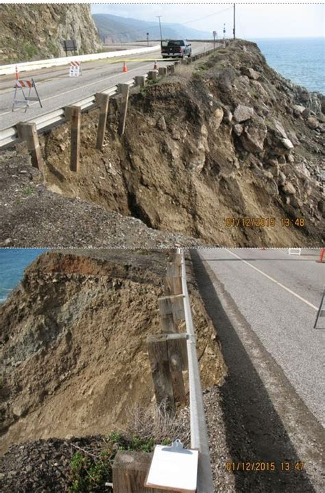 Pch Highway 1 Closures - washouts keep pacific coast highway sr 1 closed caltrans district 7