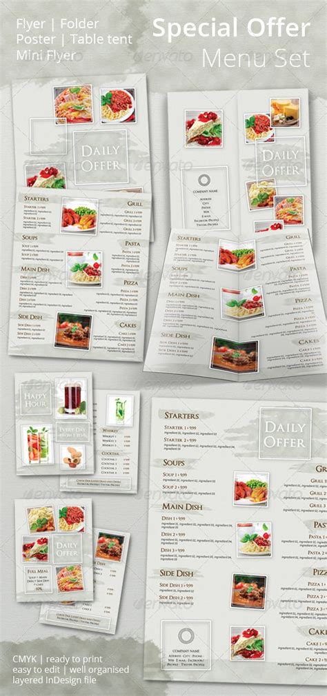 menu template indesign 1000 images about menu template on shops