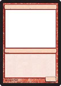 magic card template best photos of template magic card card