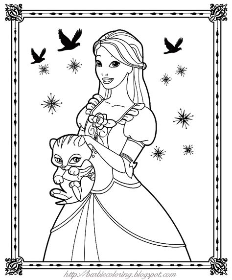 barbie coloring pages black and white barbie coloring pages
